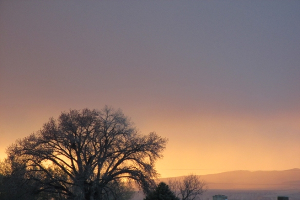 Sunset-in-the-rain