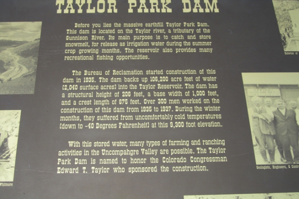 Taylor-Dam