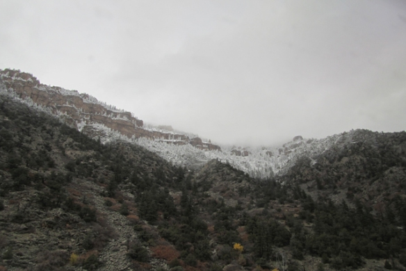 Snow-in-the-canyon