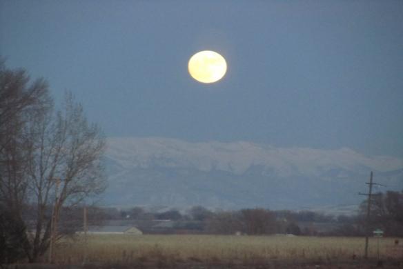 Moon in January