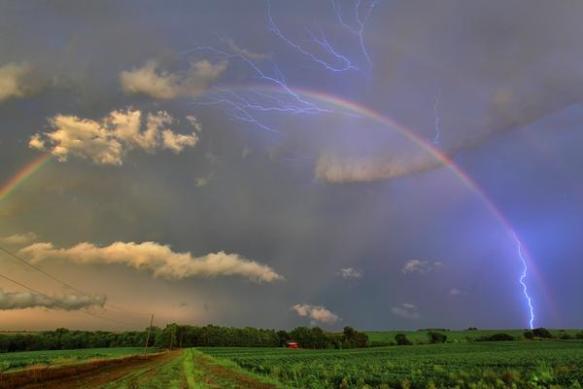 Stunning Rainbow from Sara...shot by Eric Holtaus