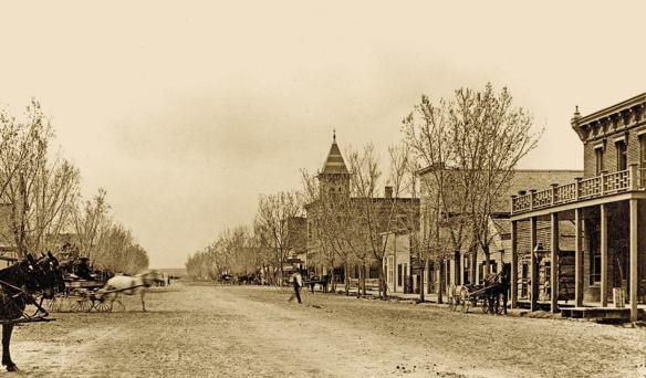Main Street Delta, Colorado 1893