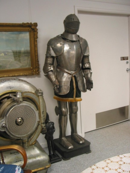WHAT'S IN THE MUSEUM Suit of Armor