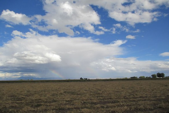 A Rainbow and a Different Bit of Fun—Sunday, September 25, 2016
